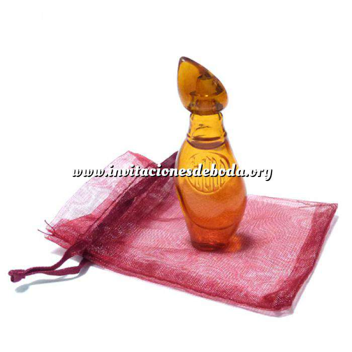 Imagen Mini Perfumes Mujer Ambar Eau de Toilette de Jesús del Pozo 4ml. (preparado en bolsa de organza) (Últimas Unidades)