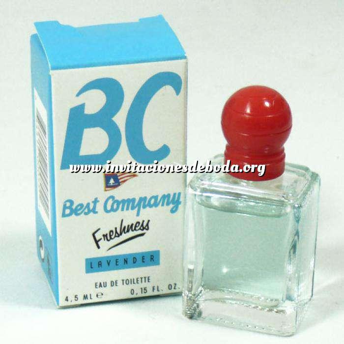 Imagen Mini Perfumes Mujer Best Company Freshness Lavender Eau de Toilette 4.5ml. (Ideal Coleccionistas) (Últimas Unidades)