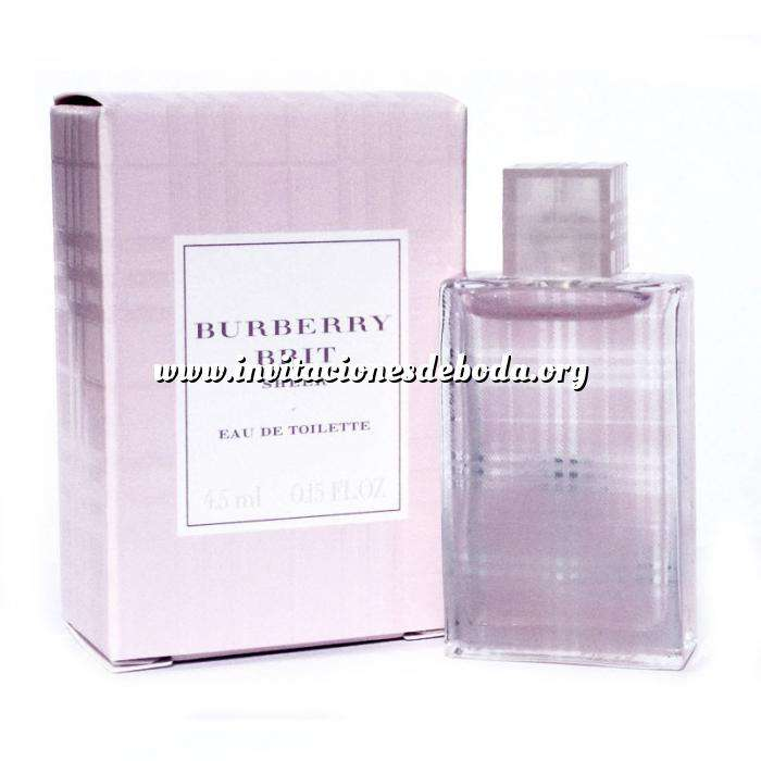 Imagen Mini Perfumes Mujer Brit Sheer Eau de Toilette by Burberry 4.5ml. (Últimas Unidades)