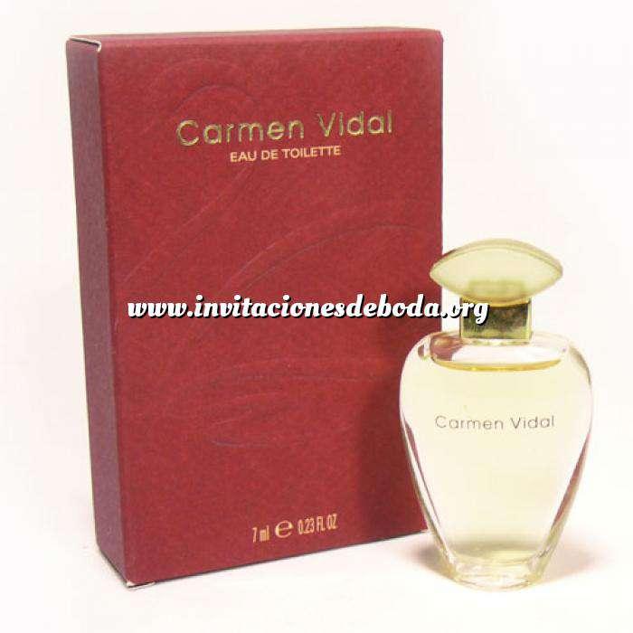 Imagen Mini Perfumes Mujer Carmen Vidal Eau de Toilette by Germaine de Capuccini 7ml. (Ideal Coleccionistas) (Últimas Unidades)