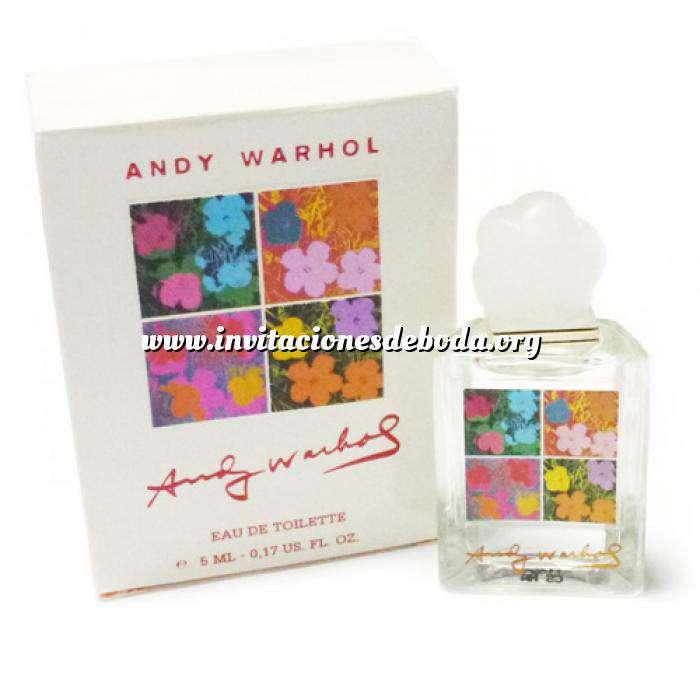 Imagen Mini Perfumes Mujer Flowers Eau de Toilette by Andy Warhol 5ml. (Caja grande) (Últimas Unidades)