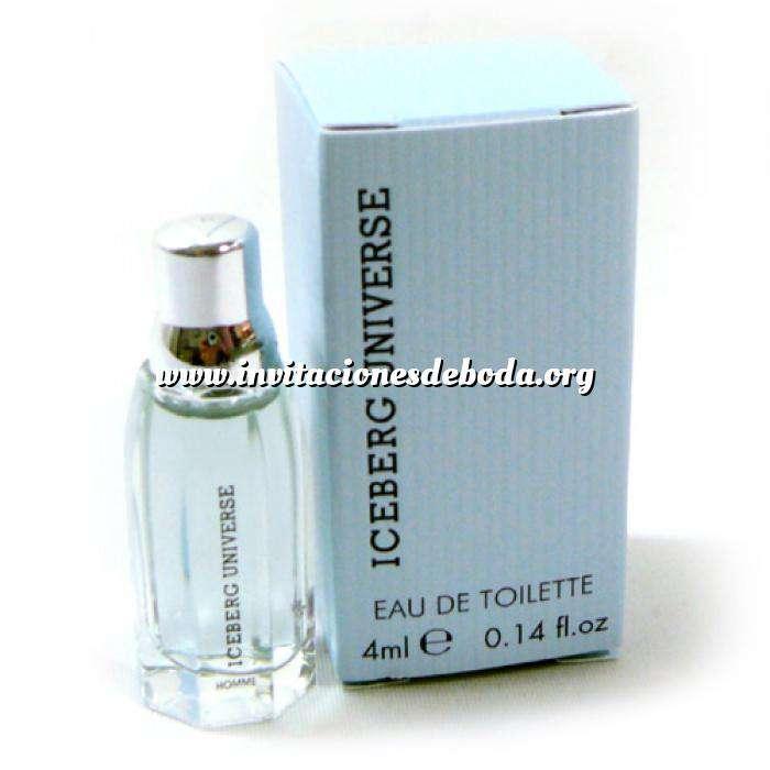 Imagen Mini Perfumes Mujer Iceberg Universe Eau de Toilette for Man 4ml. (Ideal Coleccionistas) (Últimas Unidades)