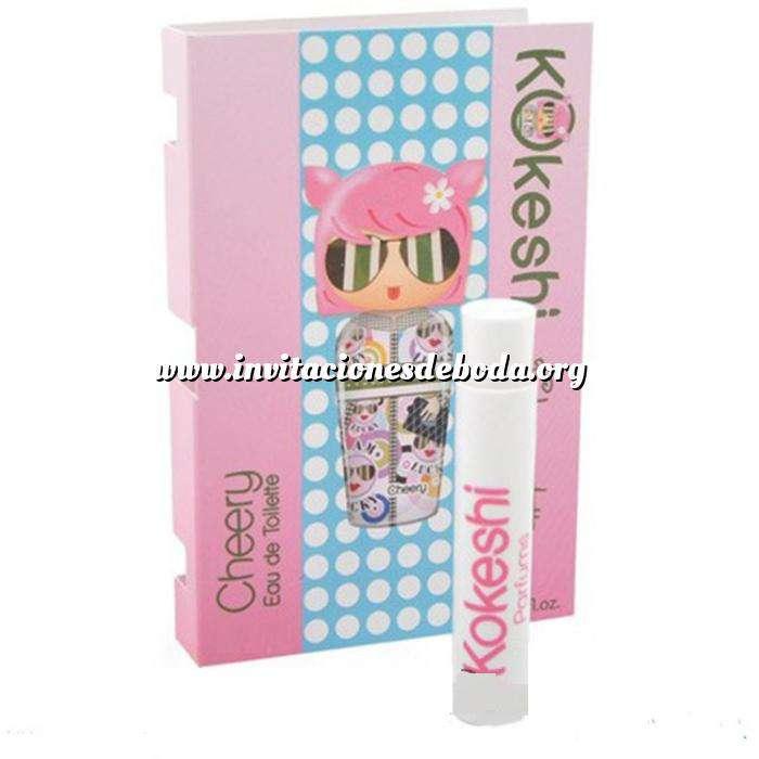 Imagen Mini Perfumes Mujer Kokeshi Cheery By Valeria Attinelli en Vial 1,2 ml (Últimas Unidades)