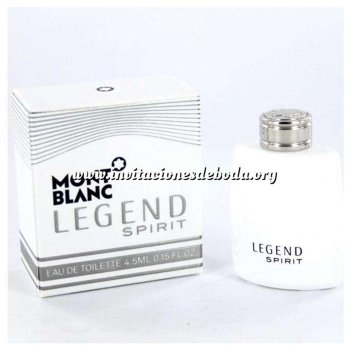 Imagen Mini Perfumes Mujer Legend Spirit Eau de Toilette by Mont blanc 4.5ml. (Últimas unidades)