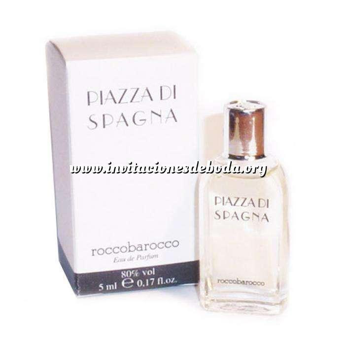 Imagen Mini Perfumes Mujer Piazza di Spagna Eau de Parfum by Roccobarocco 5ml. (Cajas con ligeras marcas) (Últimas Unidades)