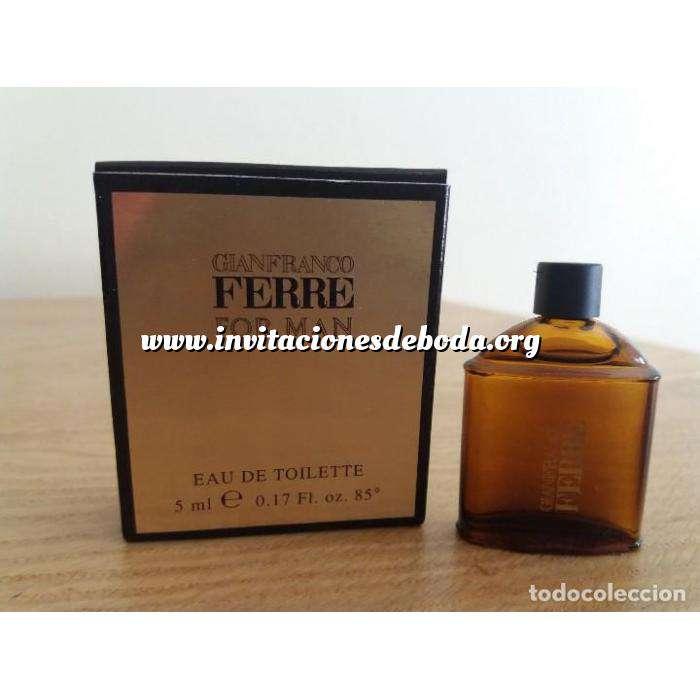 Imagen Mini Perfumes Mujer Gianfranco Ferre For Man 5ml. (Ideal Coleccionistas) (Últimas Unidades)