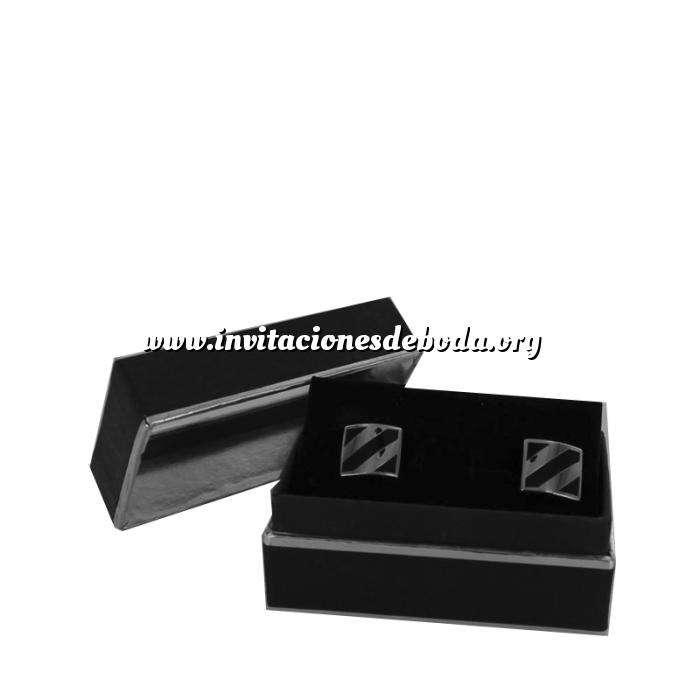 Imagen Para Hombre Gemelos Ref.15 en caja plateada forrada (Últimas Unidades)