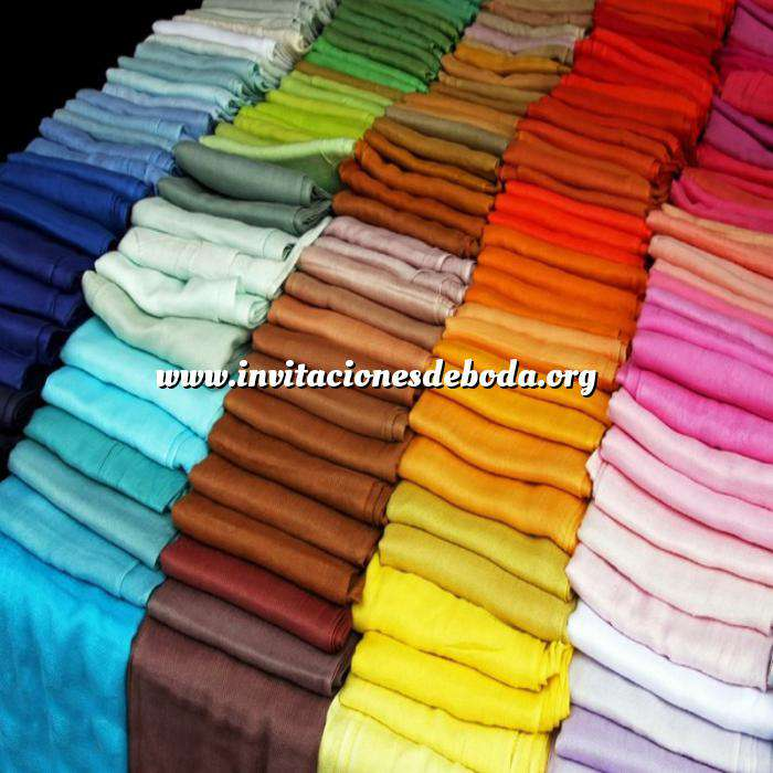 Imagen Pashminas Pashmina Lisa de colores surtidos (pasmina)