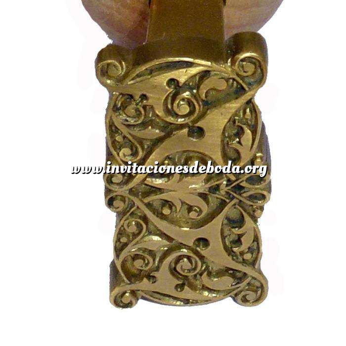 Imagen Personalizado con TU diseño Sello para cerámica y cuero 3.5 cms.