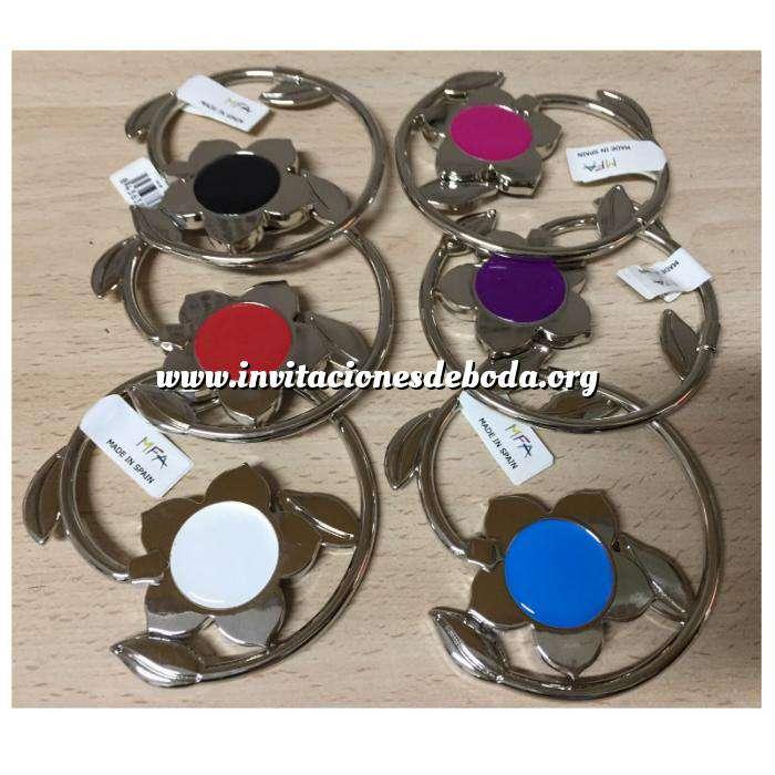 Imagen Prácticos mujer Cuelgabolsos Plegable FLOR - Colores surtidos (Últimas Unidades)