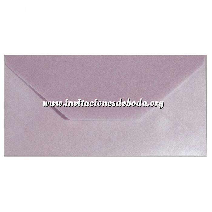 Imagen Sobre Americano DL 110x220 Sobre Perlado Lila DL