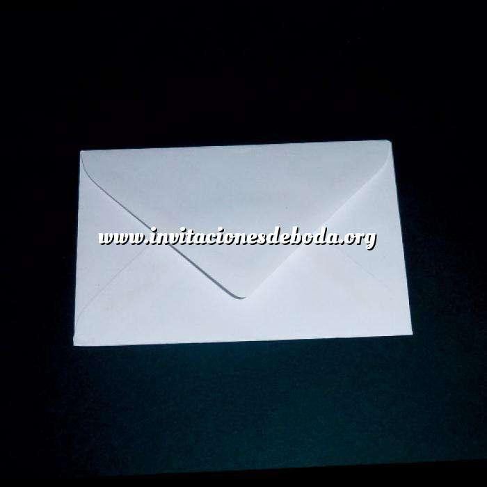 Imagen Sobres 11x8 Sobre Tarjeta de Visita Blanco (10x7cm)