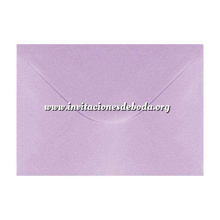 Imagen Sobres C5 - 160x220 Sobre Perlado Lila brillo c5 (Últimas Unidades)
