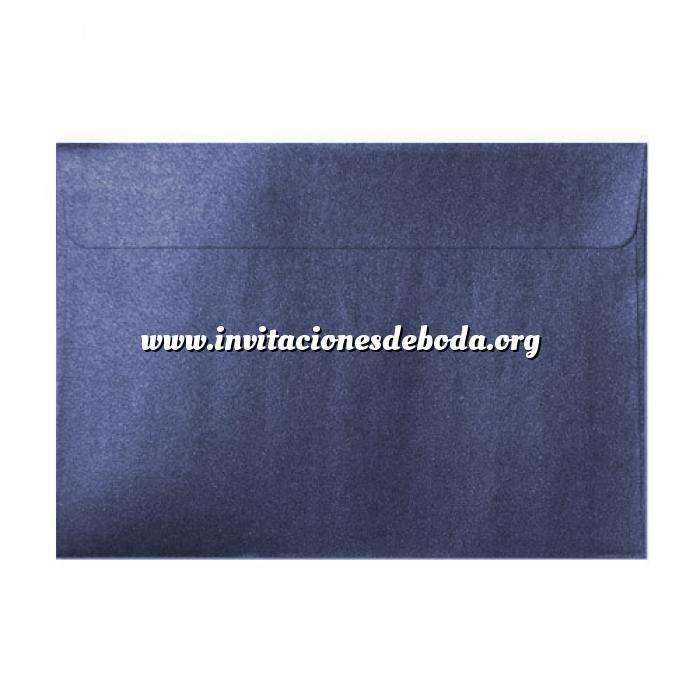Imagen Sobres C5 - 160x220 Sobre Perlado azul c5 (azul noche)