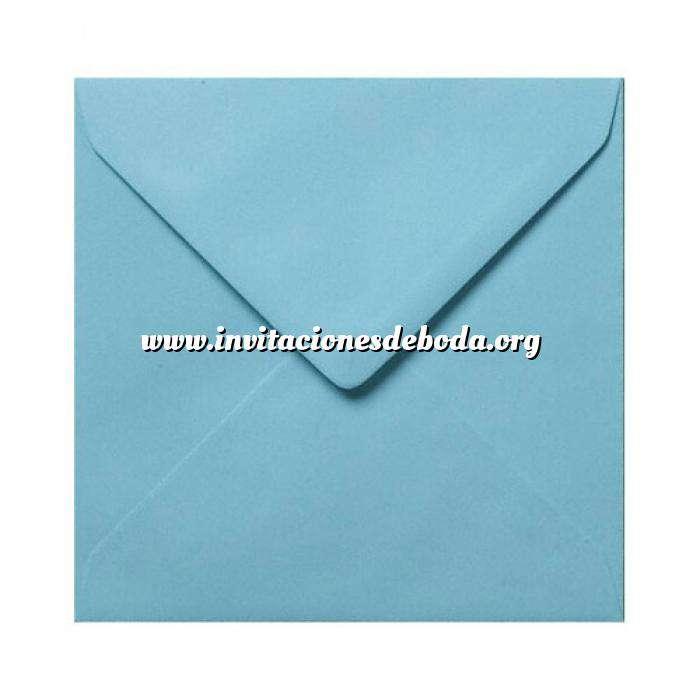 Imagen Sobres Cuadrados Sobre Celeste Cuadrado (Azul Pastel)