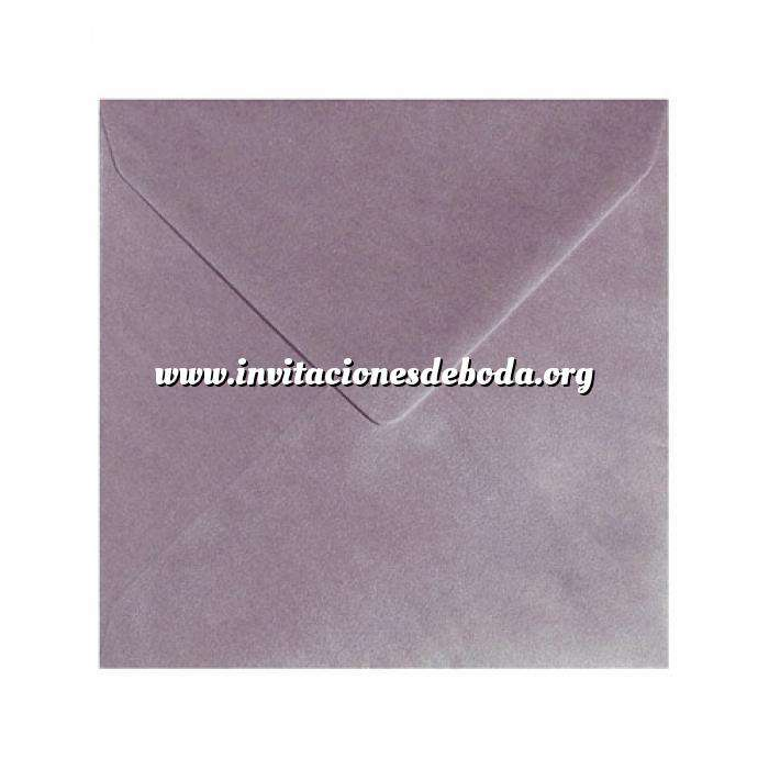 Imagen Sobres Cuadrados Sobre Perlado Lila Cuadrado