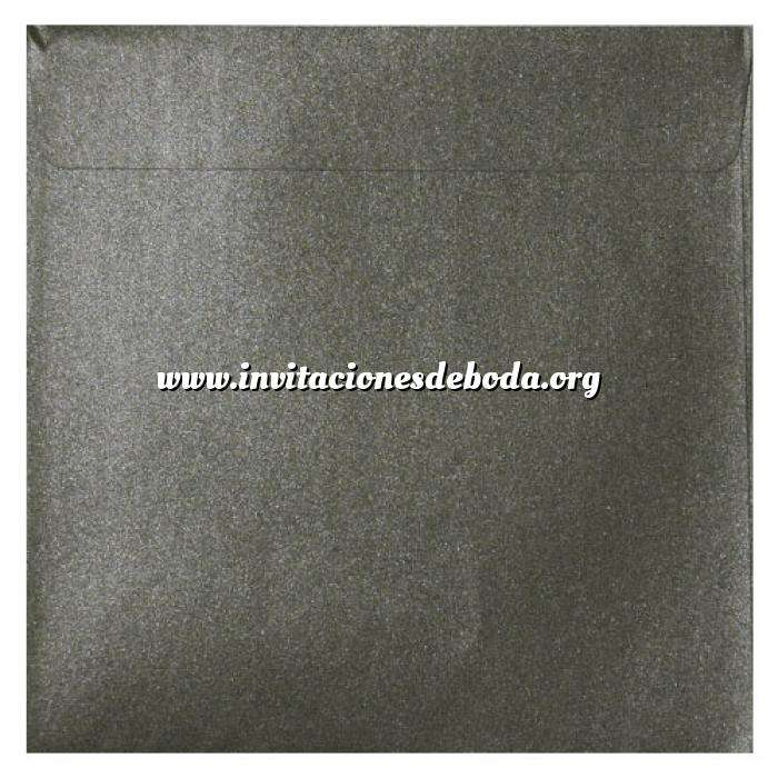 Imagen Sobres Cuadrados Sobre Perlado verde oscuro Cuadrado