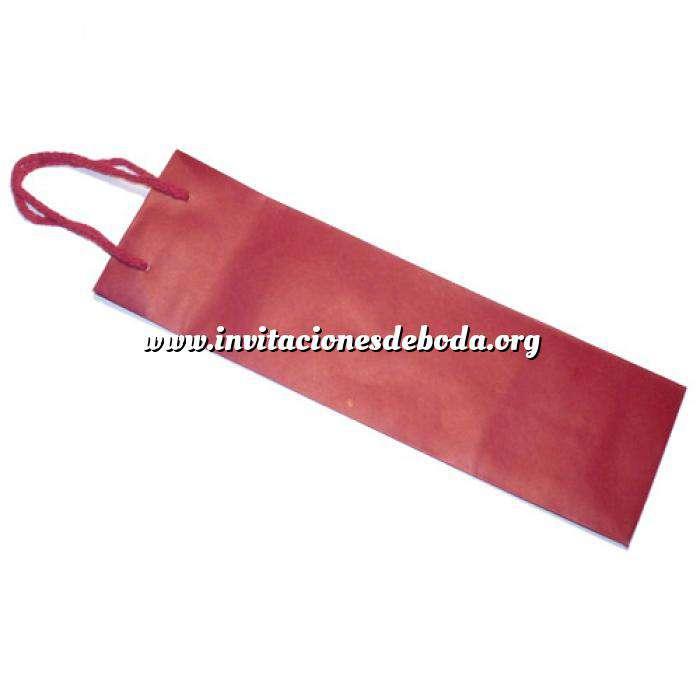 Imagen Vino Bolsa Papel para Vino Rojo Extra Grande (36 x 15.5 cm)