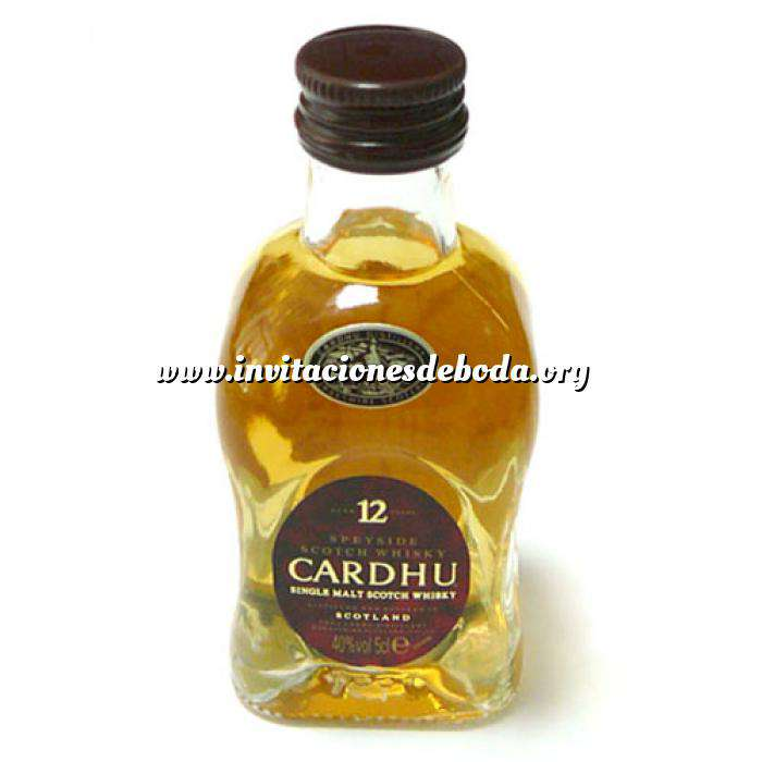 Imagen Whisky Whisky Cardhu 12 años 5cl