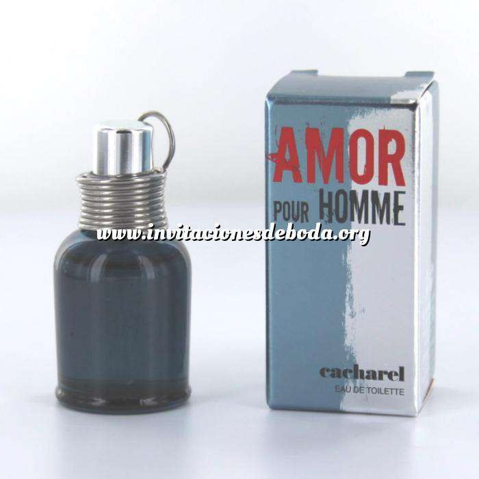 Imagen -Mini Perfumes Hombre Amor Pour Homme EDT by Cacharel 5ml. (Últimas Unidades)