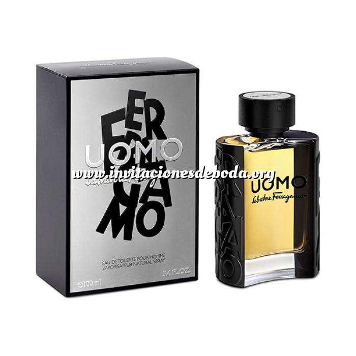 Imagen -Mini Perfumes Hombre Ferragamo Uomo Eau de Toilette by Salvatore Ferragamo (Últimas Unidades)