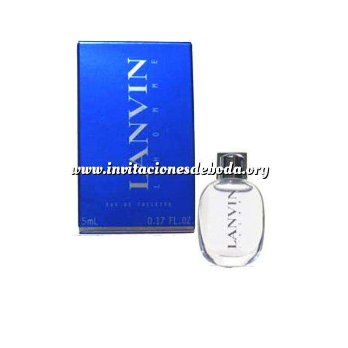 Imagen -Mini Perfumes Hombre Lanvin L´Homme Eau de Toilette by Lanvin 5ml. (Últimas Unidades)