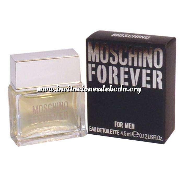 Imagen -Mini Perfumes Hombre Moschino Forever Eau de Toilette para Hombre by Moschino 4,5ml. (Últimas Unidades)