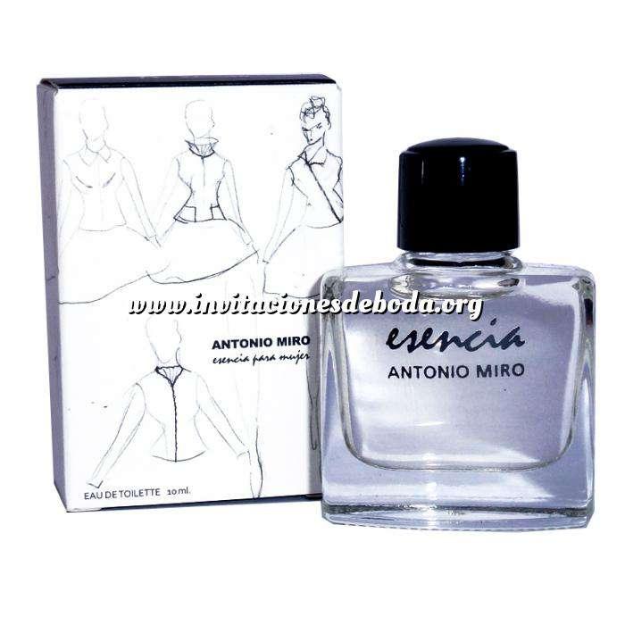 Imagen -Mini Perfumes Mujer Esencia para mujer Eau de Toilette by Antonio Miró 10ml. (IDEAL COLECCIONISTAS) (Últimas Unidades)