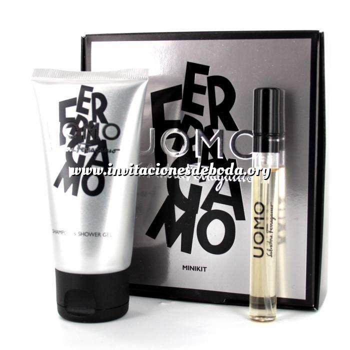 Imagen -Mini Perfumes Mujer Ferragamo Uomo MINIKIT (Eau de Toilette más Shampoo & Shower Gel) by Salvatore Ferragamo (Últimas Unidades)