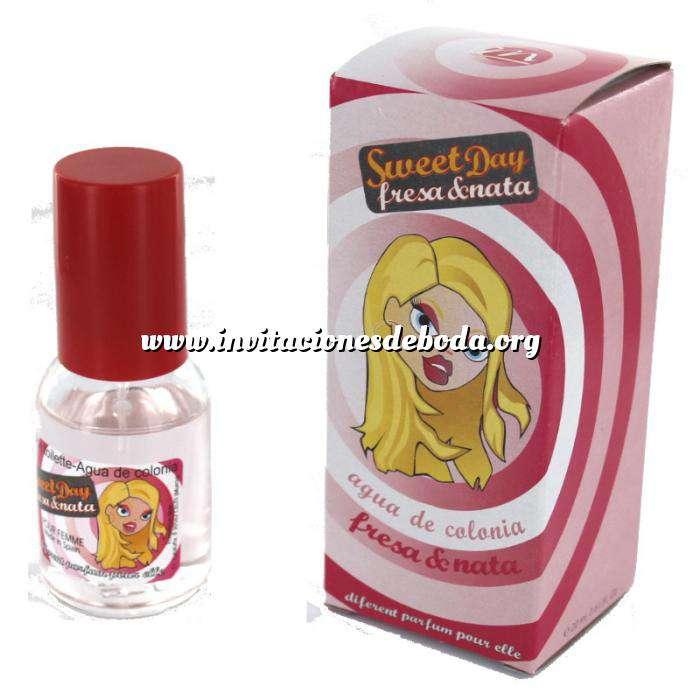 Imagen -Mini Perfumes Mujer Fragancia dulce Sweet Day Eau de toilette - Fresa y Nata 20ml. (Últimas Unidades)