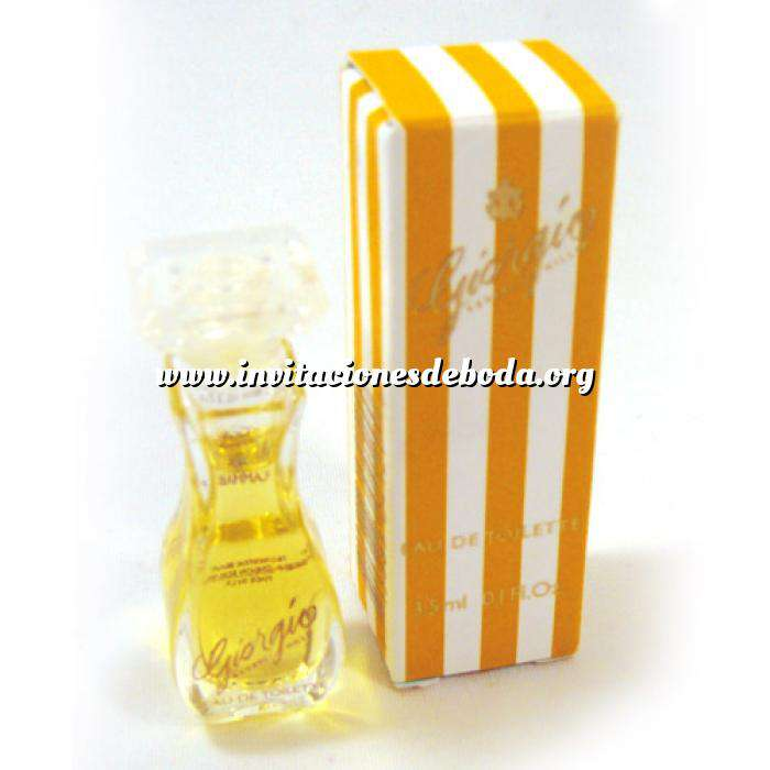 Imagen -Mini Perfumes Mujer Giorgio Eau de Toilette by Giorgio Beverly Hills 3,5ml. (CAJA PEQUEÑA) (Ideal Coleccionistas) (Últimas Unidades)