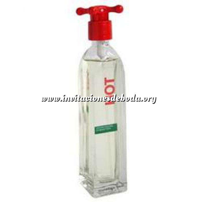 Imagen -Mini Perfumes Mujer Hot Eau de Toilette For Women by Benetton 4ml. (Ideal Coleccionistas) (Últimas Unidades)