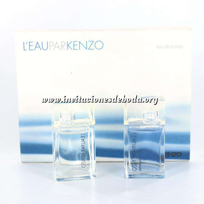 Imagen -Mini Perfumes Mujer L Eau PAR (2 miniaturas) Eau de Toilette by Kenzo 4ml. (Últimas Unidades)