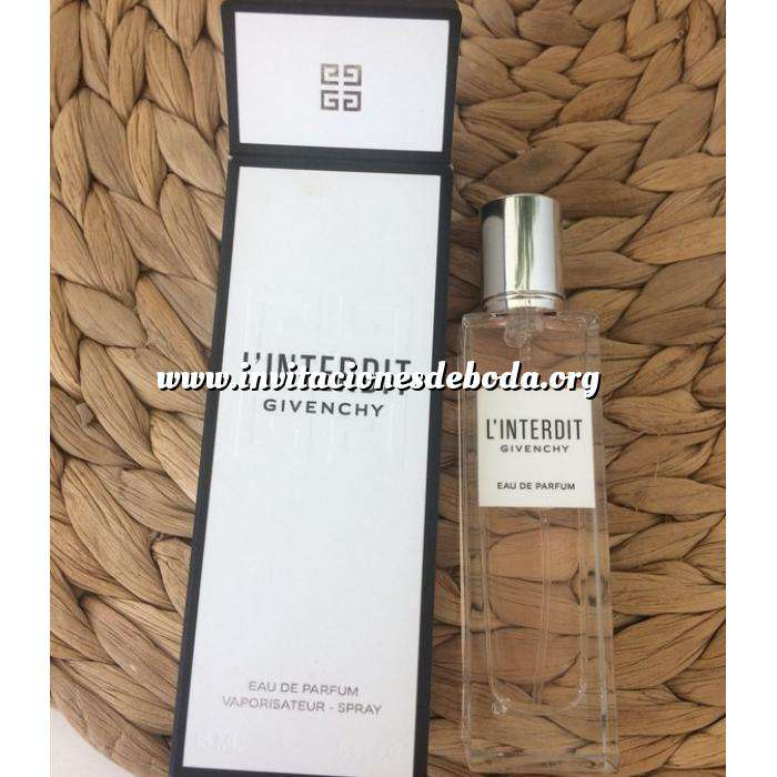 Imagen -Mini Perfumes Mujer L Interdit EAU VAPO 15ml by Givenchy Paris (Últimas Unidades)