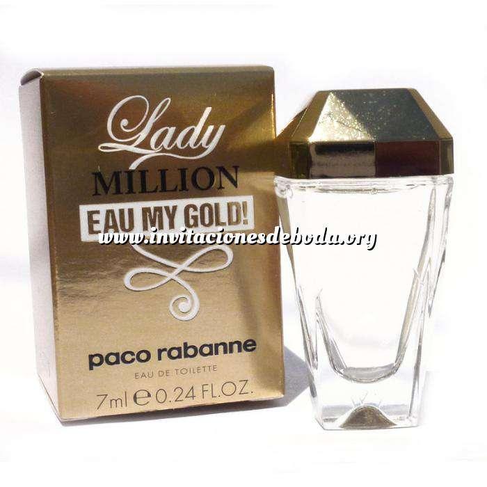 Imagen -Mini Perfumes Mujer Lady Million Eau My Gold Eau de Toilette by Paco Rabanne 7ml. (Últimas Unidades)