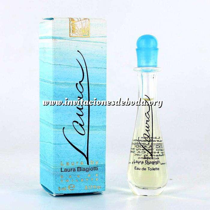 Imagen -Mini Perfumes Mujer Laura Eau de Toilette by Laura Biagiotti 5ml. (Últimas Unidades)