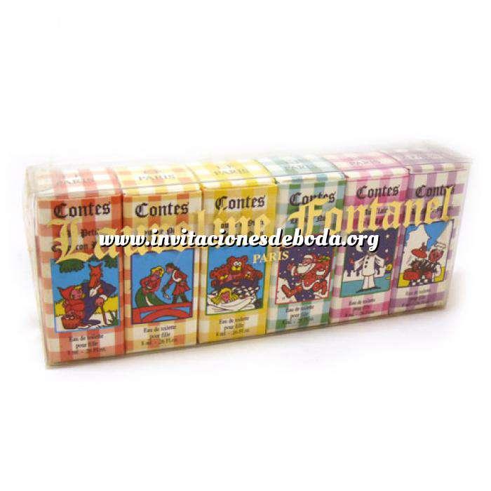 Imagen -Mini Perfumes Mujer Laureline Fontanel (Contes) Eau de toilette - caja de 6 miniaturas 5x5ml. (Ideal Coleccionistas) 2 cajitas mal (Últimas Unidades)