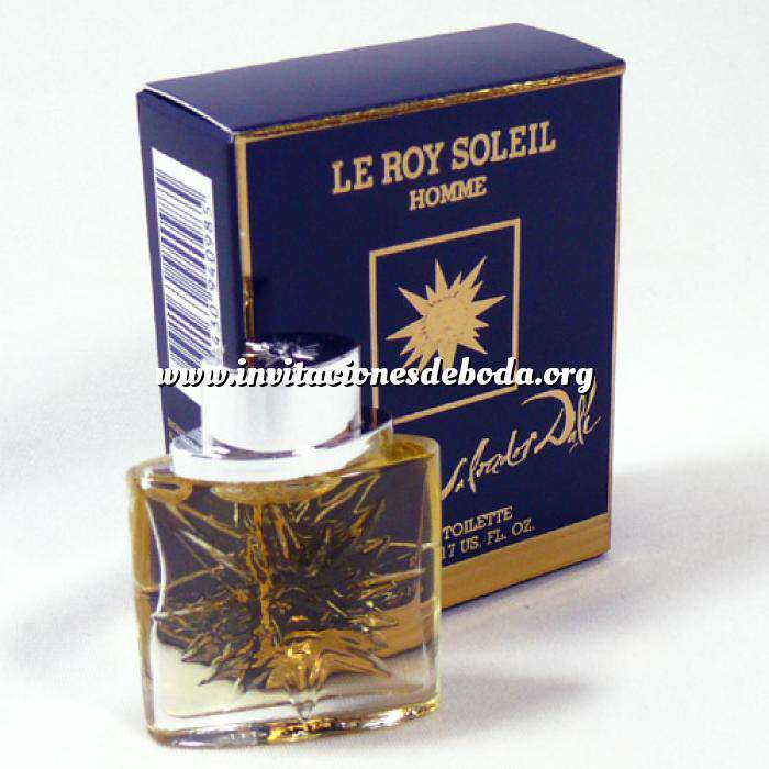Imagen -Mini Perfumes Mujer Le Roy Soleil pour Homme by Salvador Dalí (Ideal Coleccionistas) (Últimas Unidades)