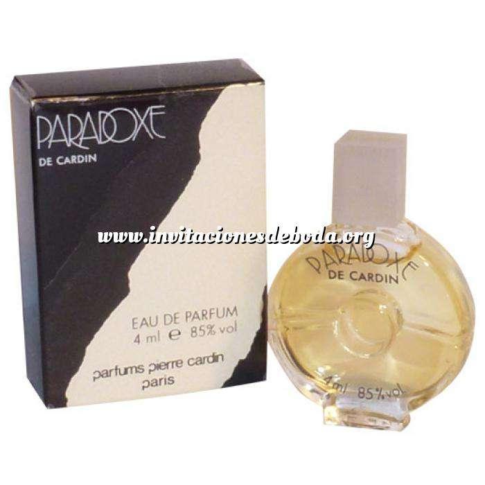 Imagen -Mini Perfumes Mujer Paradoxe Eau de Parfum by Pierre Cardin 4ml. (Últimas Unidades)