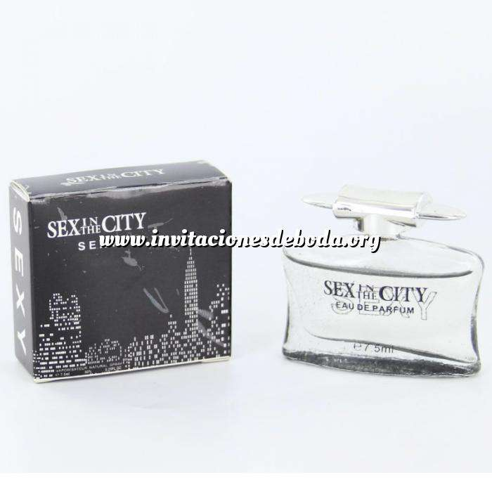 Imagen -Mini Perfumes Mujer Sex In the city - Sexy Eau de Parfum 7,5ml. by InStyle (IDEAL COLECCIONISTAS) (Últimas Unidades)