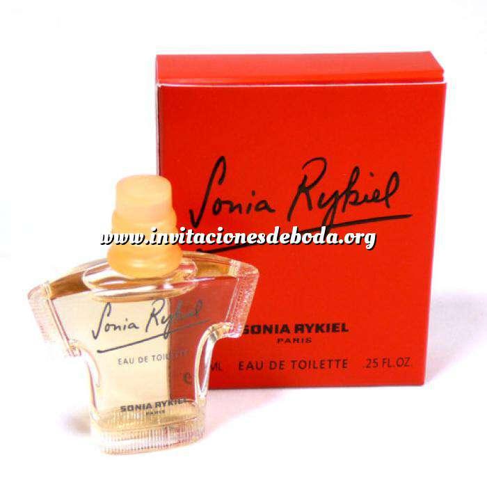 Imagen -Mini Perfumes Mujer Sonia Rykiel Eau de Toilette by Sonia Rykiel 7.5ml. (ROJO) (Ideal Coleccionistas) (Últimas Unidades)