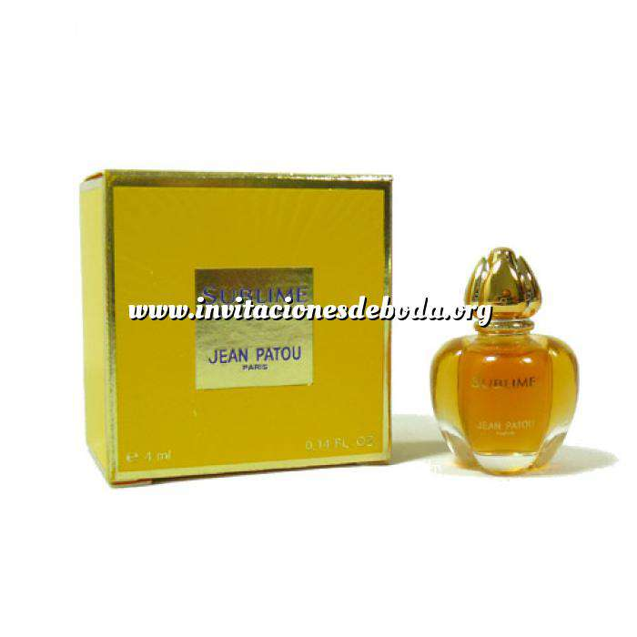 Imagen -Mini Perfumes Mujer Sublime Eau de Parfum by Jean Patou 4ml. (Últimas Unidades)