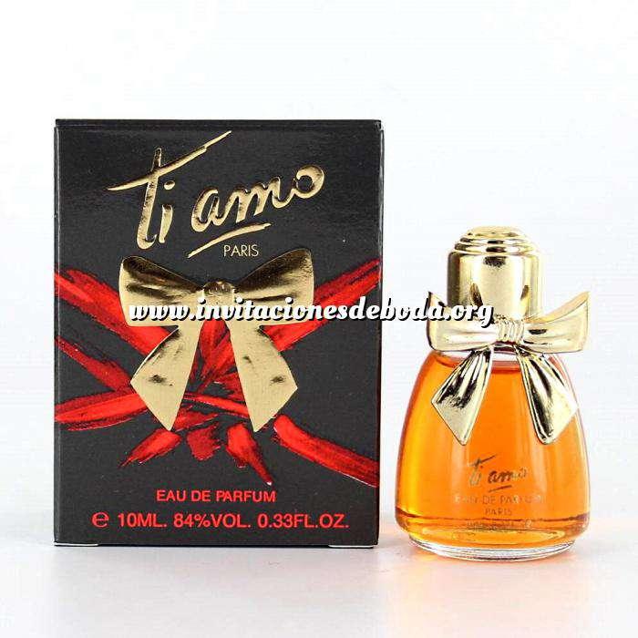 Imagen -Mini Perfumes Mujer Ti Amo Eau de Parfum by Parfums Ti Amo 10ml. (Últimas Unidades)