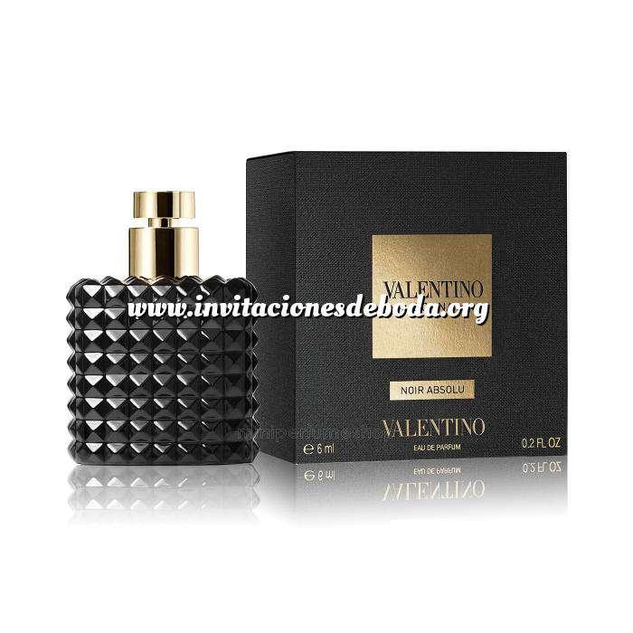 Imagen -Mini Perfumes Mujer Valentino Donna Noir by Valentino 6ml. (Últimas Unidades)