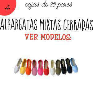 Alpargatas por CAJAS_Mixtas (Hombre y Mujer)