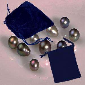 Bolsa de Antelina 7x9 - Bolsa de Antelina Azul 7x9 capacidad 7x7 cms
