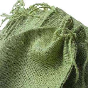 Imagen Bolsas de Yute 10x14 cm Bolsa de Yute Verde Pistacho (Claro ó Clorofila) 10x14 capacidad 9x11 cms.