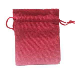 Imagen Bolsas de Yute 13x18 cm Bolsa de Yute Fucsia 13x18 capacidad 12x15 cms.