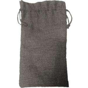 Imagen Bolsas de Yute 16x36 cm Bolsa de Yute Gris 16x36 capacidad 15x31 cms.