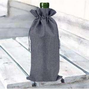 Bolsas de Yute 16x36 cm - Bolsa de Yute Gris 16x36 capacidad 15x31 cms.